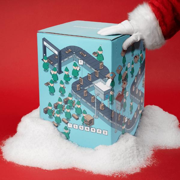 Reishunger Adventskalender 2020 mit Weihnachtsmann
