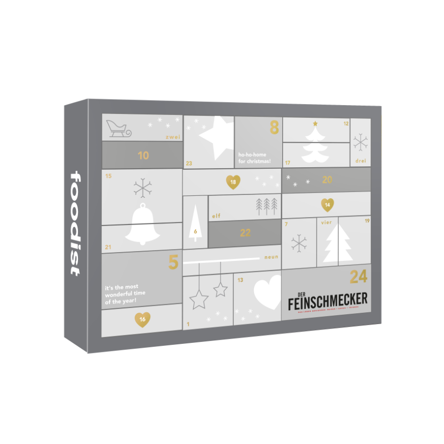 Feinschmecker Adventskalender 2020 Deluxe Foodist