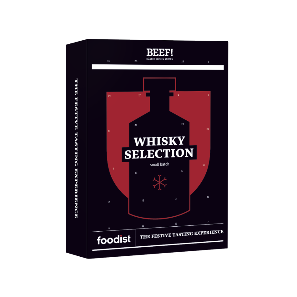 Whisky Adventskalender 2020 Foodist