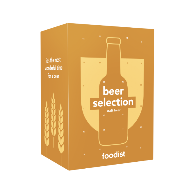 Craft Beer Adventskalender 2020 von Foodist