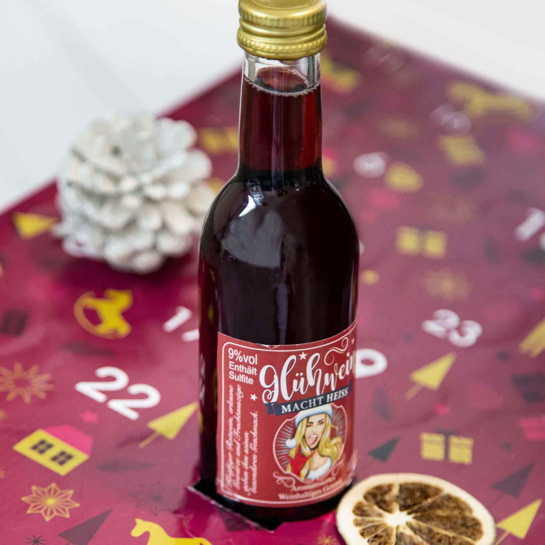 Glühwein Adventsalender 2020 Flasche