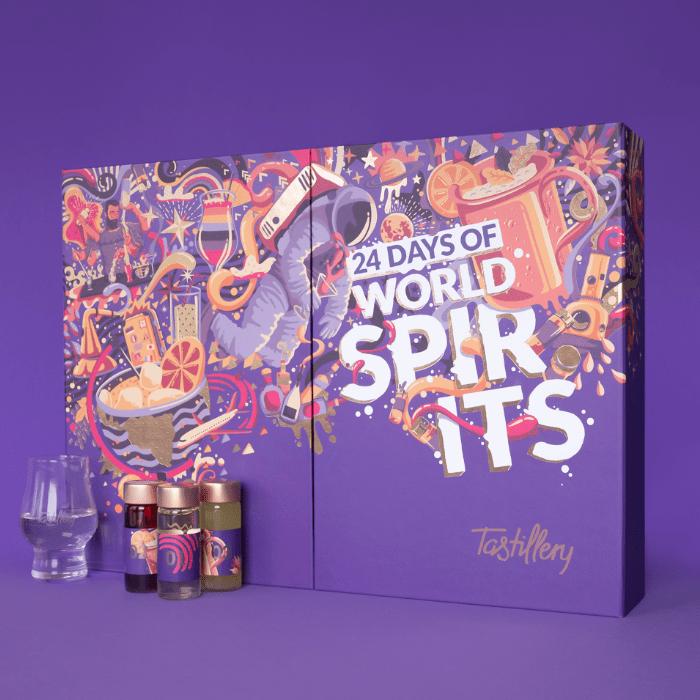 Tastillery Adventskalender 2020 Spirits of the World