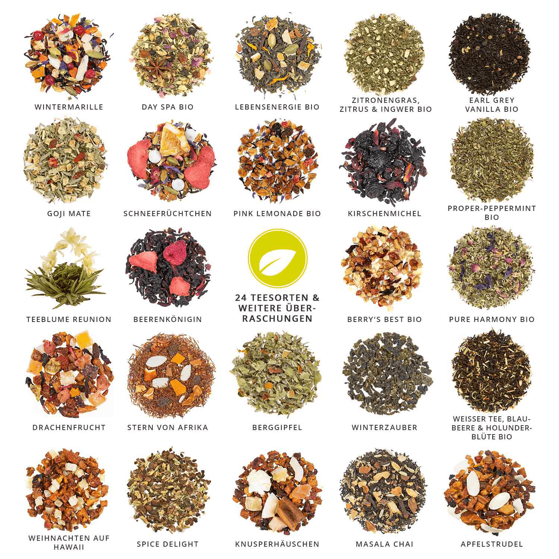 unterschiedliche-Teesorten-tee-Adventskalender